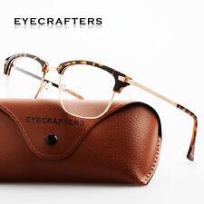 Retro Women Men Fashion Vintage Metal Eyeglass Frame Glasses Clear Lens Eyewear