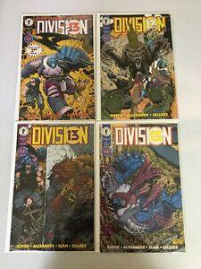 Division 13 set #1-4 8.0 VF (1994 Dark Horse)