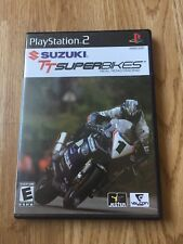 Suzuki TT Super Bikes PS2 Sony PlayStation 2 Cib Game XP1