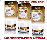 NEW DELIA Gold & Collagen Anti-Wrinkle DAY / NIGHT Cream Concentrate 50 ml