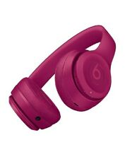 Beats Solo 3 By Dr Dre Wireless Headphones Neighborhood collection BRICK RED