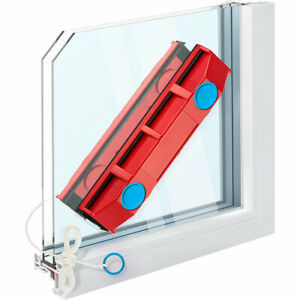 Squeegee Wash Glass Magnetic Window To Double Glazing 8 To 20 MM New