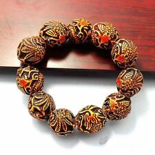 Tibet Buddhist Prayer Beads Mala Bracelet  hand catenary  wood hand string