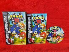 Sega Saturn SONIC R Boxed & Complete PAL UK