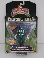 Mighty Morphin Power Rangers 2008 Super Legends Green Ranger - New -
