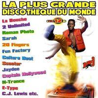La plus grande Discotheque du Monde 12 (F, 1996) La Bouche, J.K., Sarah, .. [CD]