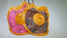 """Inflatable Floating Donut Drink Holders (2 Pack) 9"""" T1"""