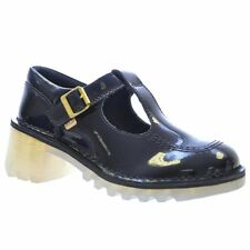 Block Standard (D) Width 100% Leather Shoes for Women