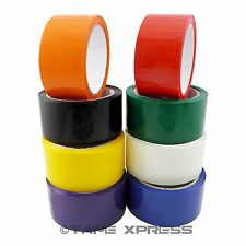 8 Rolls Packaging Packing Tape 2 X 55 Yd Carton Sealing Free Shipping 8 Color