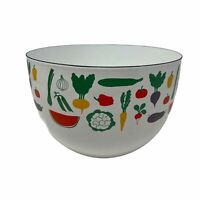 Vintage Arabia Finland Enamel Vegetable Mixing Bowl Kaj Frank MCM