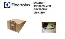 SACCHETTI ASPIRAPOLVERE ELECTROLUX Z250 Z350 VOLTA U250 U258 U260
