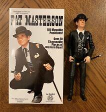 Marx Johnny West Gene Berry as Bat Masterson with Box