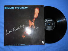 Billie Holiday with Ray Ellis And His Orchestra Last Recording FRENCH REISSUE 89