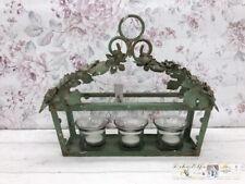 Chic Antique Windlicht Shabby  Nostalgisch Laterne Windlicht Teelichthalter