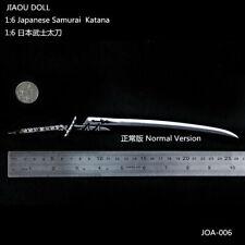 "Japanese Samurai Katana JApan Sword 1/6 Scale Soldier fit 12"" Figure Model toys"