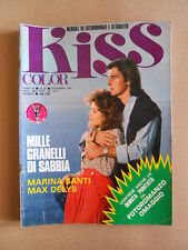 KISS COLOR n°60 1982  Rivista Fotoromanzi  [C69]