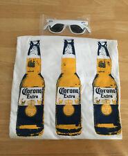 Corona Beer Bottle Opener Sunglasses & Xl T-shirt Shirt New Promo Items!