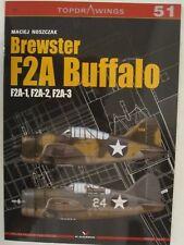 Kagero Book: Brewster F2A Buffalo F2A-1, F2A-2, F2A-3 (Topdrawings)