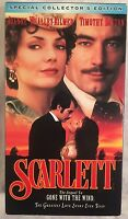 Scarlett The Sequel To Gone With The Wind VHS 2 Tape Special Collector's Edition