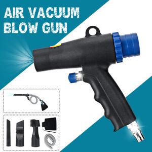2-In-1 Air Vacuum Blow Gun Pneumatic Blower Sustion Machine Cleaning Tool