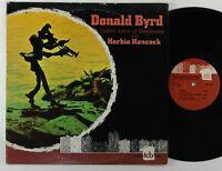 "Donald Byrd & Herbie Hancock ""Takin Care Of Business"" Jazz LP TCB 1002"