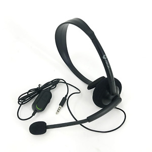 Microsoft XBOX ONE Gaming Wired Mono Headset 3mm Jack #UX001