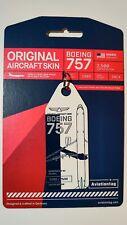 Aviationtag Delta Airlines B757 Blue n White Bicolour