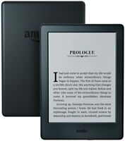 "Kindle E-Reader eBook 2016 8th Gen 6"" 4GB Wi-Fi Built-in Audible Black-Brand New"