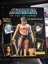 Masters of the Universe Panini Complete Sticker Album He Man Dolph Lungren