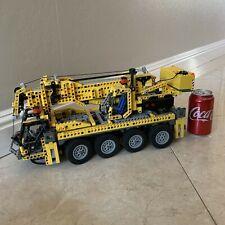 Assembled Lego Technic 8421 - Technic Mobile Crane - 2005