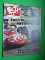 Autosprint 1971/38 Abarth Formula Italy Imola 500 Km Euro Rally Fiat 130 Brm