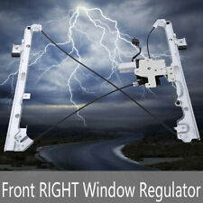 New Power Window Regulator W/Motor Front Passenger Side For Chevy GMC Cadillac