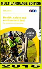 CSCS DVD for Operatives and Specialists 2016 - MULTI-LANGUAGE Edition