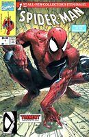 🔥🕸🕷 SPIDER-MAN #1 CLAYTON CRAIN TORMENT Facsimile McFarlane Homage Variant NM