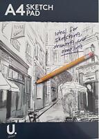 50 Page A4 Artiste Croquis Coussin Dessin Papier 80gsm Carnet Pochette Surprise