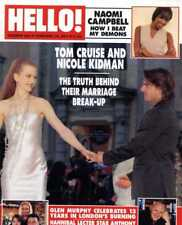 HELLO MAGAZINE #650 NAOMI CAMPBELL, TOM CRUISE & NICOLE KIDMAN, ANTHONY HOPKINS