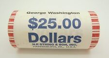 "2007 George Washington Presidential ""Unopened"" Dollar 25 Coin ROLL Mint Unknown"