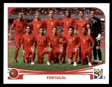 Panini World Cup 2010 - Team Photo Portugal No. 543