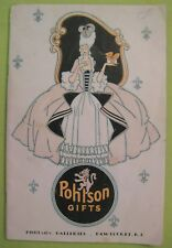 Antique 1930's Pohlson Gifts Catalog-- 64 pages