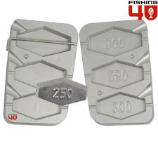 Hexagon In-Liner Fishing Lead Mould 200-250-300g Lead Mold Weights & Sinkers