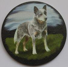 Australian Blue Cattle Dog - Coaster - Welsh Slate