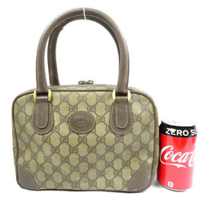 GUCCI Handbag GGpattern brown