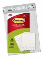 Command Large Picture Hanging Strips, 14 Pairs, White (PH206-14NA)