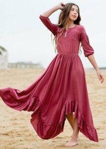Joyfolie Elvia Dress in Berry NWT Girls sz 10