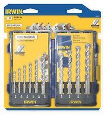IRWIN Tools 1792772 Professional Multi-Material Carbide Drill Bit Set 10-Piece