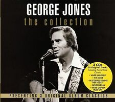 George Jones The Collection 3 CD box set SEALED NEW Super Hits Tammy Wynette