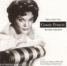 CONNIE FRANCIS - Who's Sorry Now: The Hits Collection (UK 20 Tk CD Album)