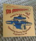 COORS CLASSIC 10TH  1997 CENTRAL PA. AUTO ROUNDUP DASH PLAQUE TAG HUGHESVILLE PA