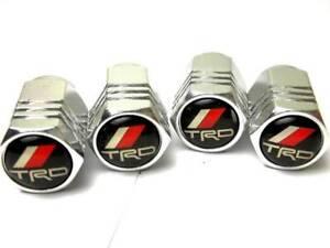 TIRE VALVE CAPS STEM TRD FOR TOYOTA MR2 COROLLA CAMRY RAV4
