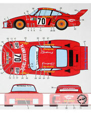 1/12 PORSCHE 935 HAWAIIAN TROPIC TRANS DECAL LE MANS 79 fo TAMIYA BARBOUR NEWMAN